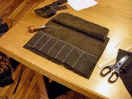 leather chisel roll to enlarge