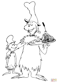 Small Picture Cat And The Hat Coloring Pages And WorksheetsAndPrintable