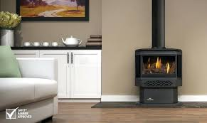 free standing gas fireplace s standg small freestanding direct vent ventless propane modern