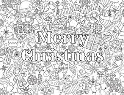 Small Picture 40 Best Merry Christmas Coloring Pages Free 5984 Celebrations