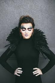 black bird makeup