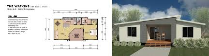 One Bedroom Flat Design Granny Flat Residential Plans Factory Built Manufactured Homes