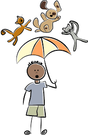 raining cats and dogs clipart. Delighful Dogs Cat And Dog Clip Art Teaching Isnu0027t So Bad A Pet Peeve Turns Into A  Decent Lesson Plan To Raining Cats Dogs Clipart L