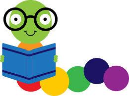 Image result for bookworm free clip art