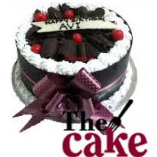 1 Kg Designer Black Forest Cake Delivery In Delhi Ncr
