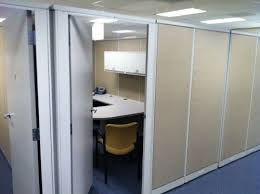 ... Office cubicles with doors Decorating Ideas