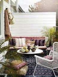 balcony decor patio set with umbrella