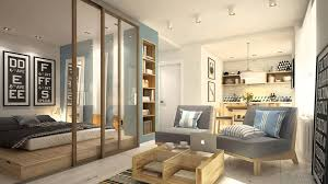 Small Apartment Bedroom Enchanting Studio Apartment Dividers Photo With French Country