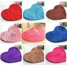 heart shaped rug cute love heart shaped non slip bathroom rug carpet bath mat heart shaped heart shaped rug
