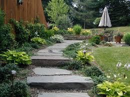 Google Garden Design Simple Walkway Gardens LandscapeAdvisor