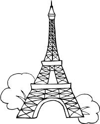 Small Picture Seven Wonders of the World Eiffel Tower Coloring Page Seven
