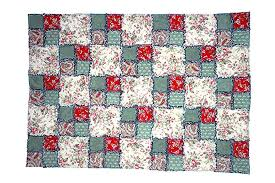 How to Make a Rag Quilt, Start to Finish Instructions & Make a Simple Double Four Patch Rag Quilt Adamdwight.com