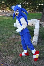 sonic in action sonic the hedgehog costume