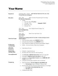 Example Good Resume Inspiration Resumer Example Example 48 Resume Maker App Mollysherman