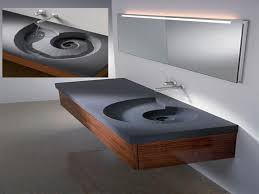 stylish modular wooden bathroom vanity. Make Stylish Bathroom, Add Floating Vanity. View Original Pic : [Full] [Large] Modular Wooden Bathroom Vanity