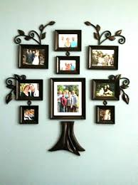 hanging pictures without frames picture ideas stylist family tree frame wall metal pertaining to creative mul