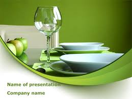 Table Setting Templates Table Setting Presentation Template For Powerpoint And