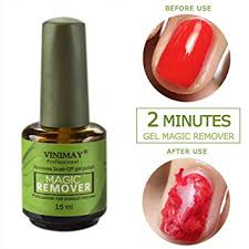 15ml Magic Soak-Off Gel Nail Polish Remover ... - Amazon.com
