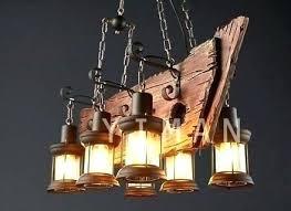rope chandelier restoration