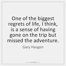 My biggest regret in life is that i didn't hit john denver in the mouth while i has the chance. Gary Haugen Quotes Storemypic Page 1