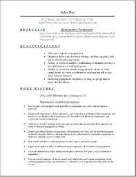 Building Maintenance Resume Sample General Maintenance Resume Sample ...