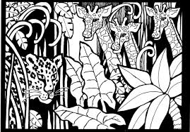 Small Picture Africa giraffes to print Africa Coloring pages for adults