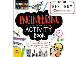engineering activity book 6 99 stem starters for kids