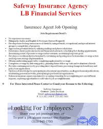 americanarab chamber on twitter insurance agent job opening safeway insurance agency lb financial services s t