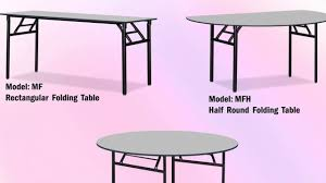 round folding catering tables uk