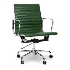 impressive vintage eames desk chair vintage green short back style ribbed office chair cult uk