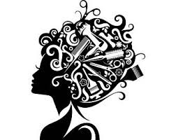 dresser clipart black and white. hair style salon beauty scissors comb hairdresser female fashion .svg .eps .png vector dresser clipart black and white