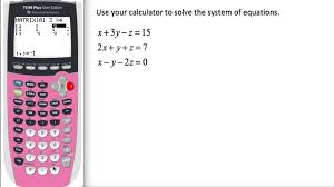 solving systems of equations by elimination addition and