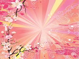 history of floral design powerpoint azalea flower powerpoint templates flowers fuchsia magenta
