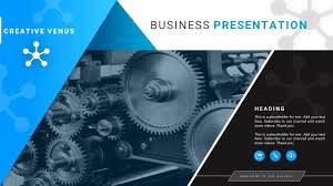 Mechanical Design Ppt How To Create A Cover Slide For Mechanical Or Technical Industry Presentation In Powerpoint Ppt