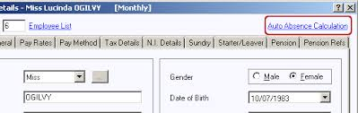 How To Set Up Statutory Maternity Pay Smp Paye Master