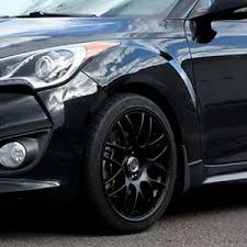 hyundai veloster black rims. 18 inch drag dr34 matte black on 2013 hyundai veloster turbo w specs rims