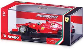 F1 Formula 1 Ferrari F10 Fernando Alonso 2010 Die Cast Model By Bburago 1 32 Scale By Ferrari Amazon De Spielzeug