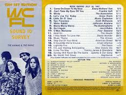 Old Top 40 Charts Wcfl Chicago Il 1967 07 20 In 2019 Music Charts Music