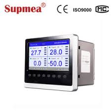 Electronic Chart Recorder 3 Channel Paperless Chart Recorder With Led Display And Safety Terminals