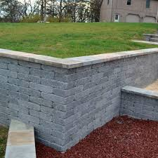 solid concrete block village