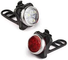 <b>Rechargeable Usb Charging</b> LED <b>Bike</b> Lights Set: Amazon.co.uk ...