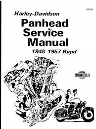 Harley davidson panhead service manual 1948 1957 rigid el fl harley diagrams and manuals