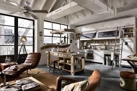 industrial kitchen furniture. Stunning Industrial Style Kitchen Furniture Picture Design Cool