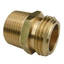 garden hose adapter. 3/4 MALE GARDEN HOSE TREAD X PIPE THREAD 1 Garden Hose Adapter E