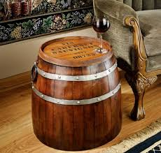 furniture made from wine barrels. French Wine Barrel Side Table Furniture Made From Barrels