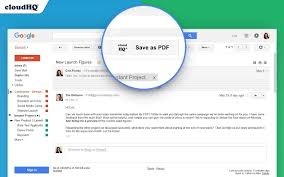 Save Gmail Emails To Pdf Or Zip With A Click
