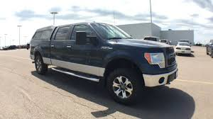 Pre-Owned 2013 Ford F-150 XLT 4WD Crew Cab Pickup