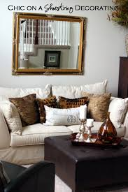 For A Living Room Makeover Chic On A Shoestring Decorating Living Room Makeover On A Budget