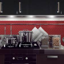 Stick On Backsplash For Kitchen Smart Tiles 1020 In X 910 In Peel And Stick Mosaic Decorative