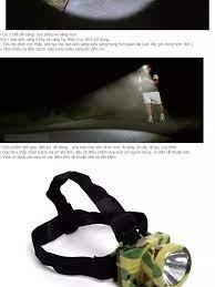 Đèn Pin Đội Đầu Giá Rẻ / Đèn Pin Đội Đầu Rằn Ri Siêu Sáng Vega365 -Đèn